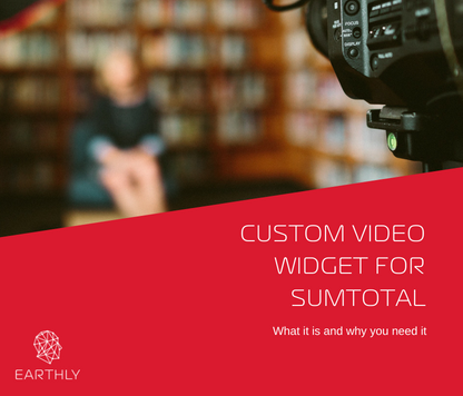 custom video widget sumtotal