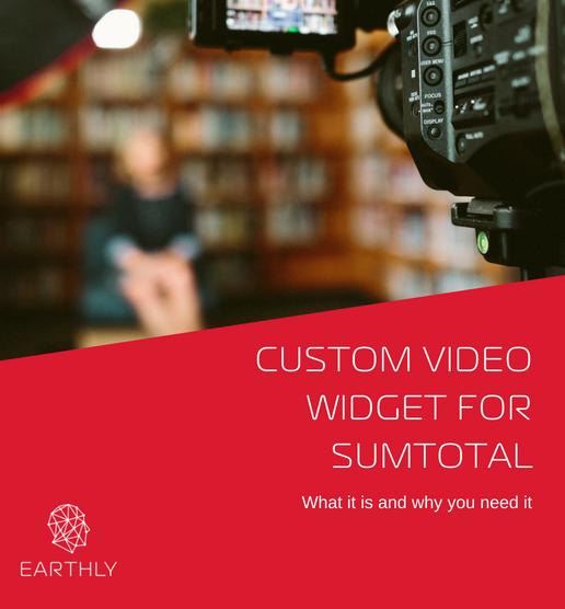 custom video widget sumtotal
